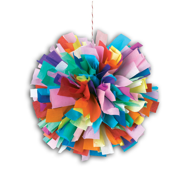 Crepe Paper Crafts For Kids Part - 16: The Paper Novau0027s Are Bright And Colorful And Come In 10 Different Styles.  Once They Have Been Crafted, Kids Can Show Them Off By Displaying Them In  Their ...