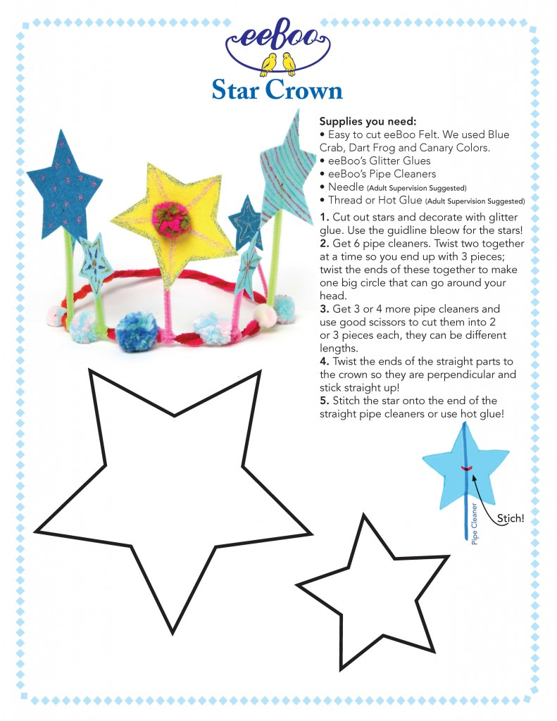 DIY Star Crown