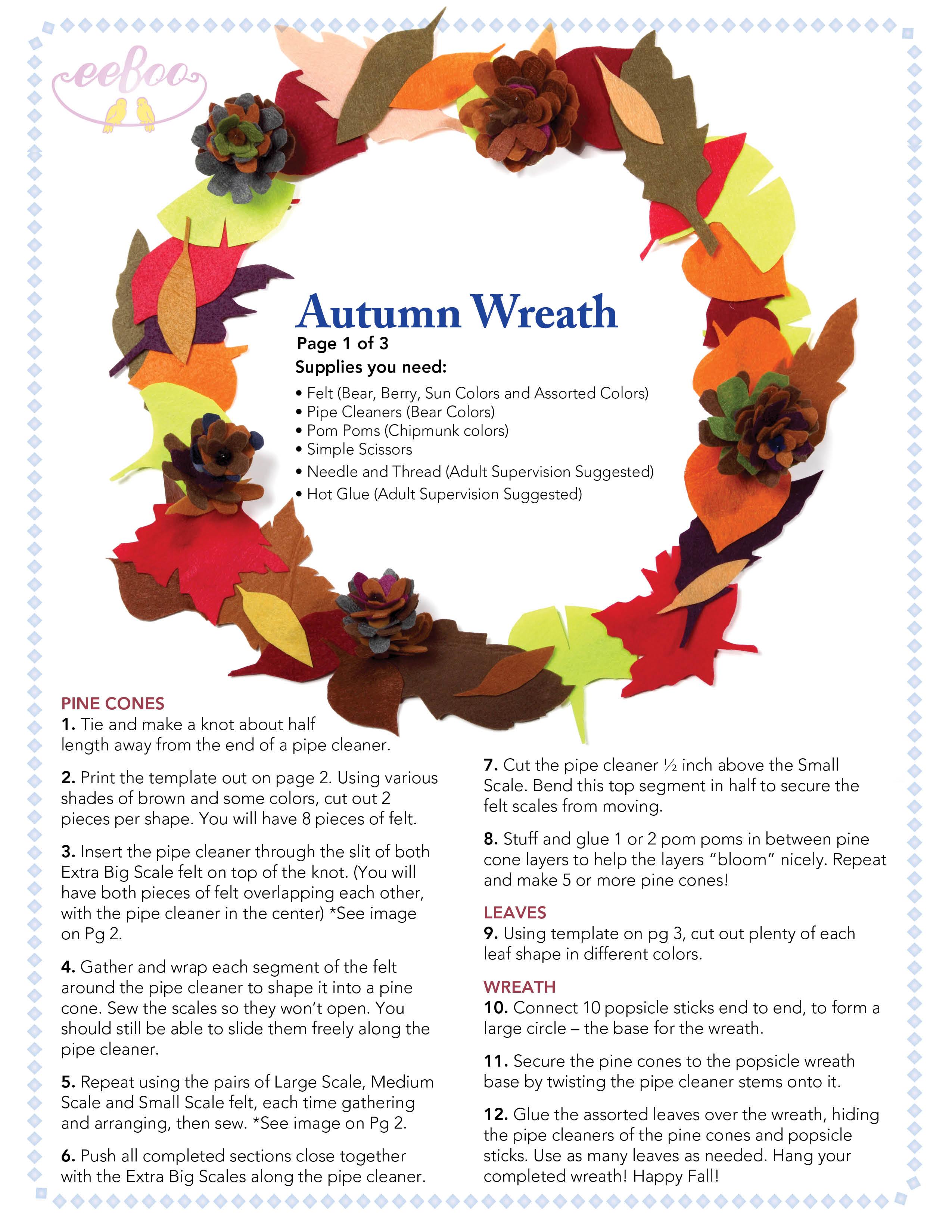 eeboo craft project-oct13-autumnwreath