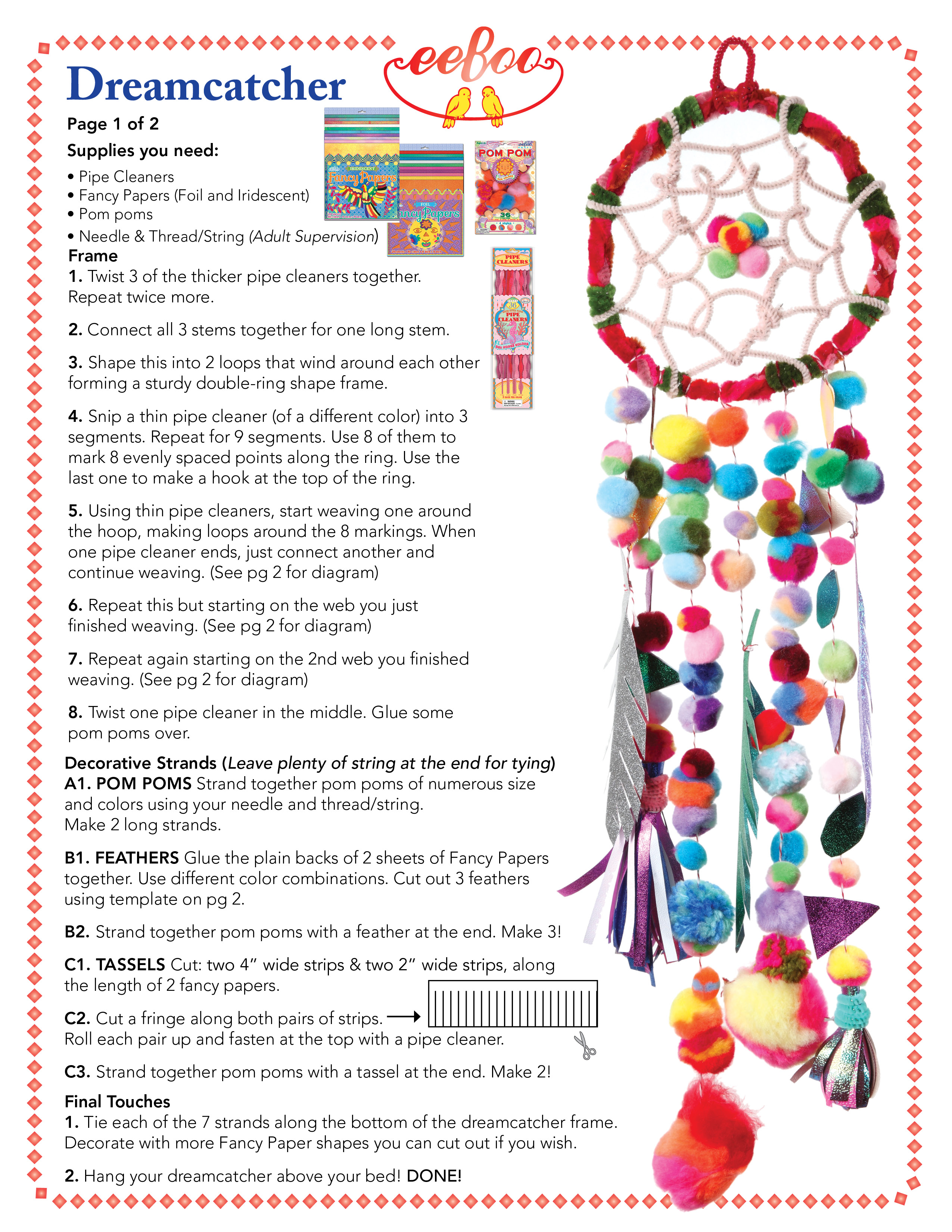 eeboo craft project-oct13-dreamcatcher