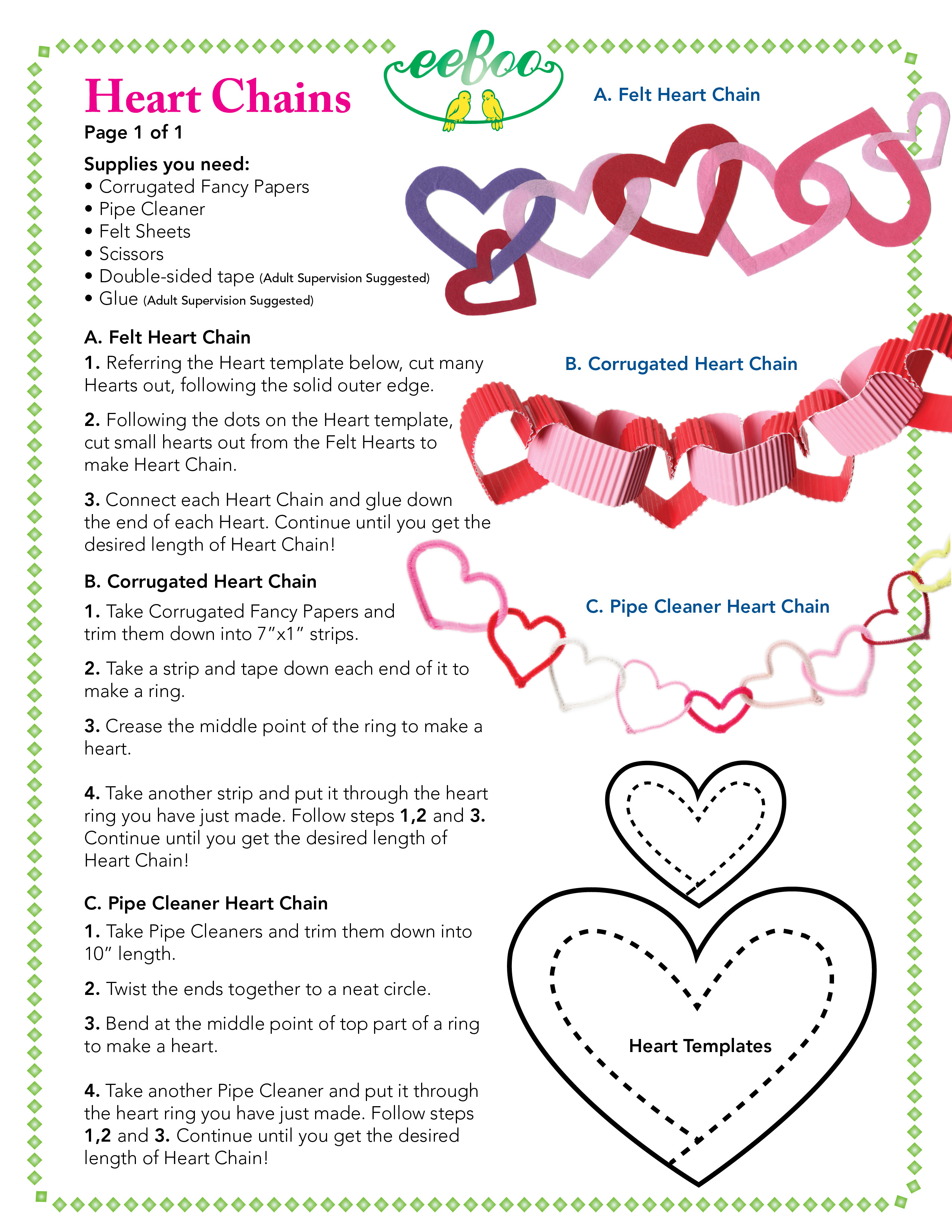 eeboo craft project-dec13-heartchain