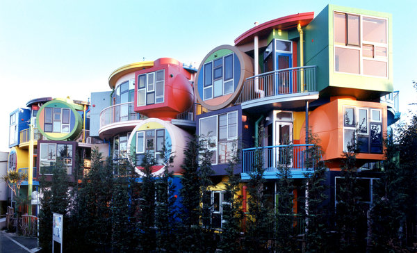 """Reversible Destiny"" Lofts in Mitaka, Japan. Photo Credit: Masatako Nakano via nytimes.com"
