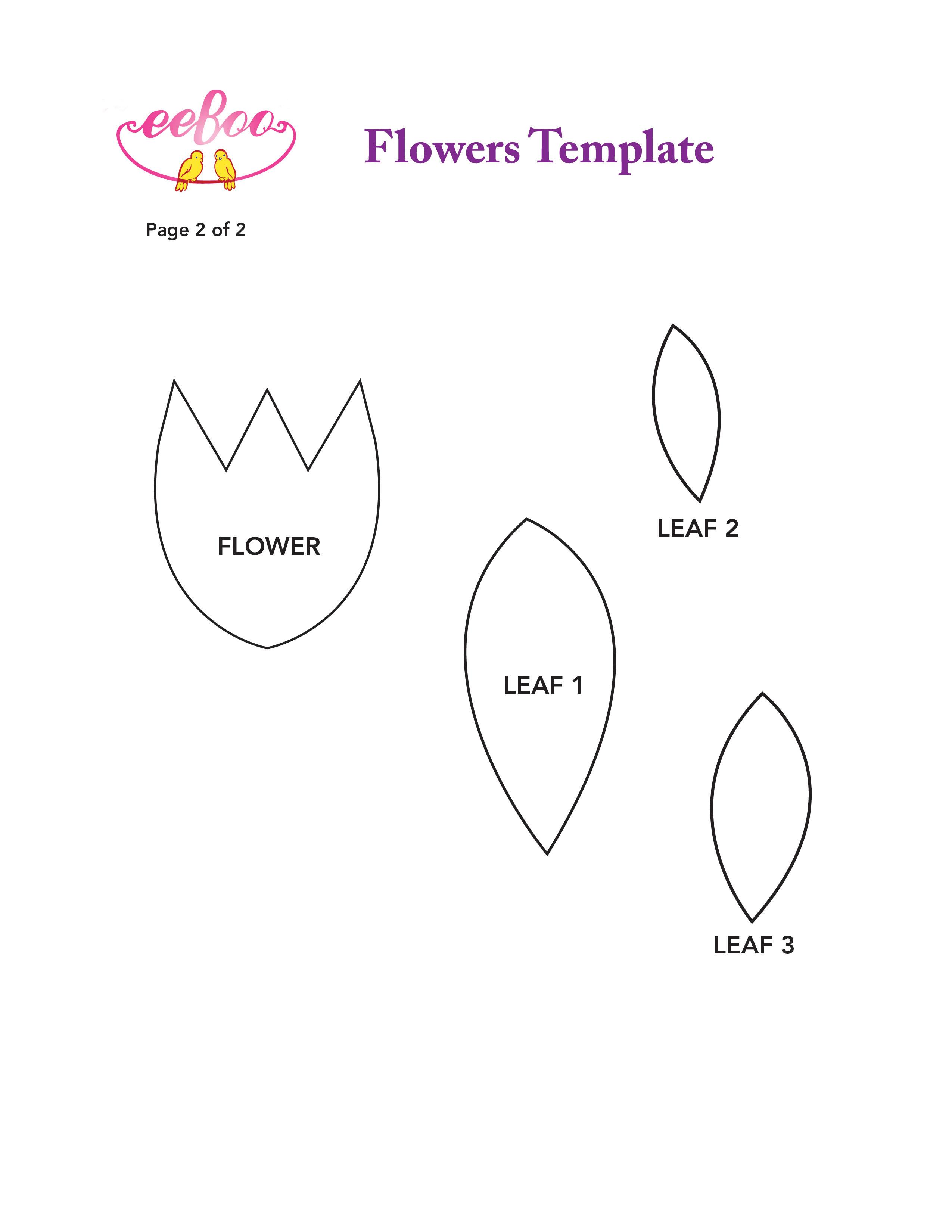 tulip template